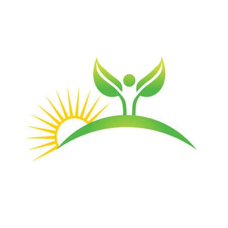 Cuktivated plant in nature icon. Vector graphic design Stock Illustratie