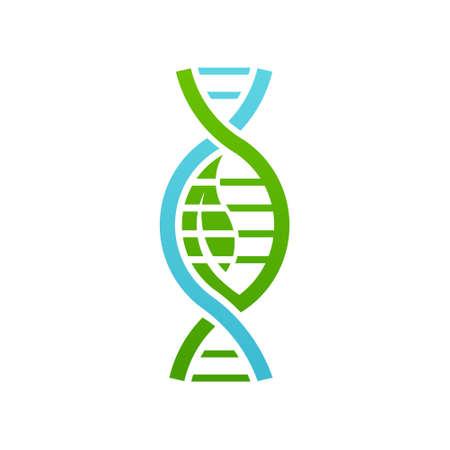 Biology DNA. Vector graphic design