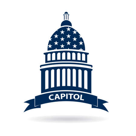 Capitol Congress Illustration Illustration