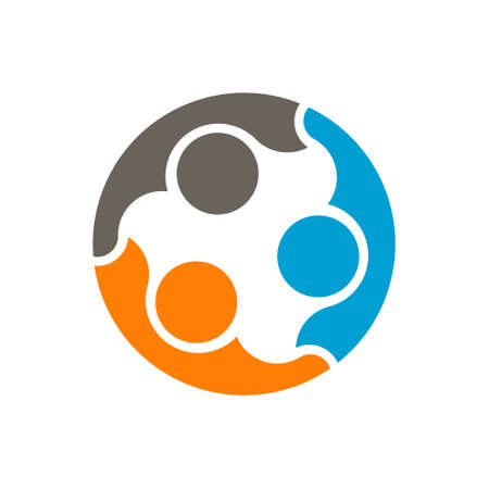 Community People Logo. Vector Illustration