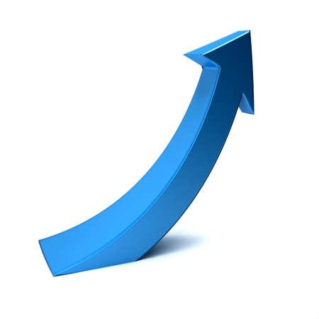 Business index arrow up