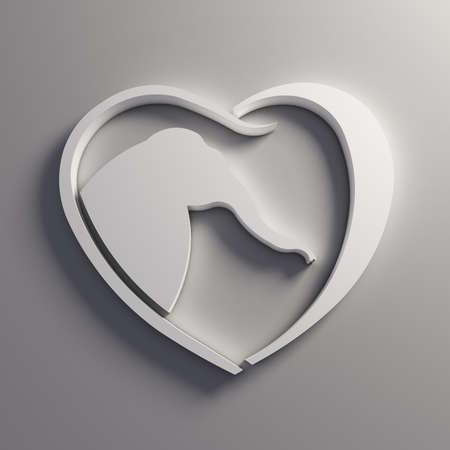 Heart Elefant love.