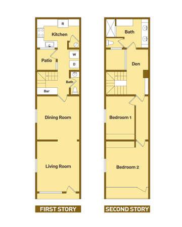 Architecture Floor Plans Modern House