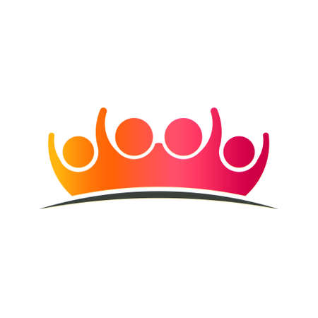 Family Care People Logo Illustration