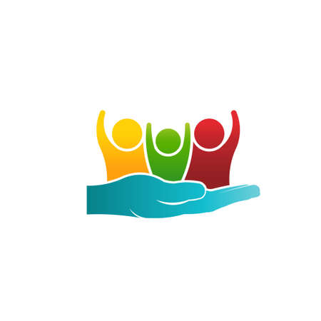Caring of Family People Logo