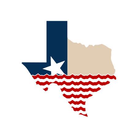 Texas Map When The Goings Gough Tough.