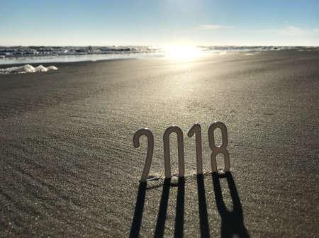 2018 All Year in the Beach Photo Archivio Fotografico