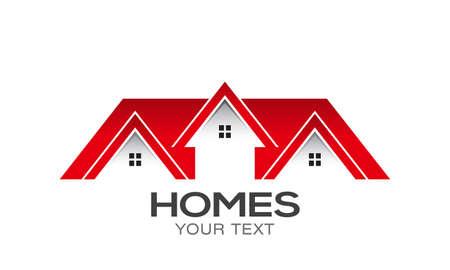Homes for Sale Vector design