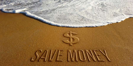 Save Money Business Motivation. Photo Image