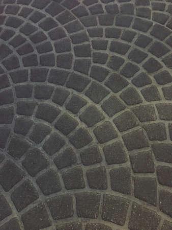 Arch shape pattern background floor