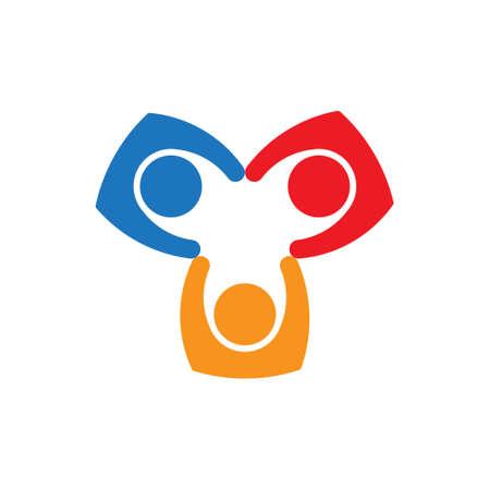 Teamwork People Collaboration icon Design