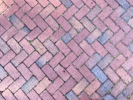 Brick Paver pattern. Photo image Stok Fotoğraf