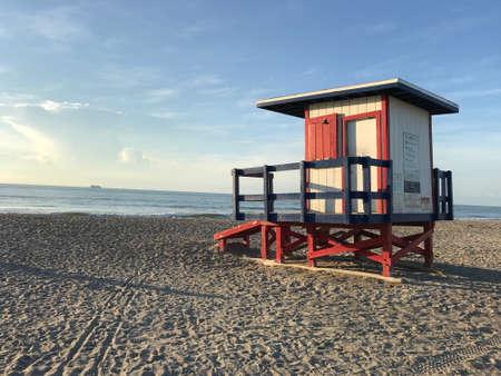 Safeguard House in Cocoa Beach . Photo image Stok Fotoğraf