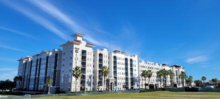 Altamonte - FL: December 2, 2020: Uptown Lofts Building . Photo image