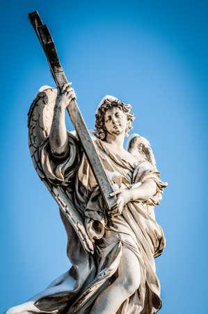 castel: angel at Castel SantAngelo