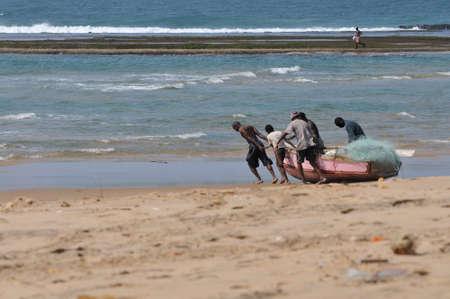 mozambique: fishermen in Mozambique