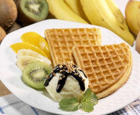 ice cream pie. Stock Photo
