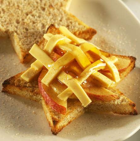 apple chesse bread