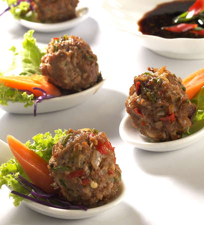 Asian meat ball,meat ball