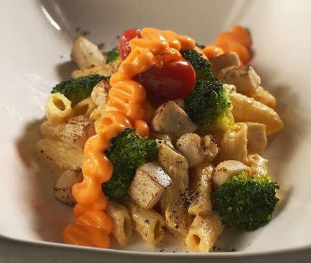 Brocolli chicken pasta,chicken pasta,