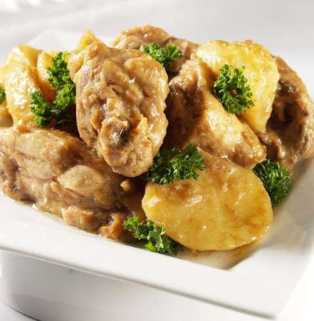 fried chicken cubes,oyster sauce chicken,spicy oyster sauce chicken.