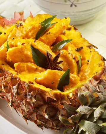 pineapple paceri, Stock Photo