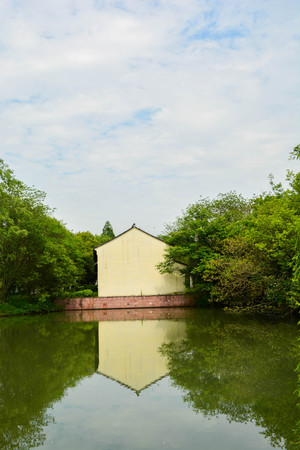 wetland: Xixi wetland Stock Photo