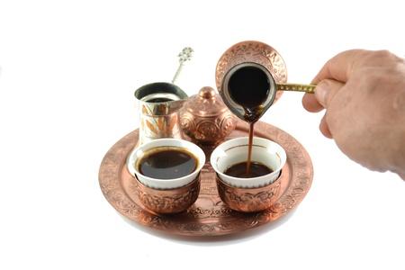 hercegovina: Coffee pot for two  Stock Photo