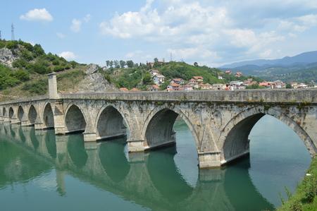 Old Bridge on the Drina photo