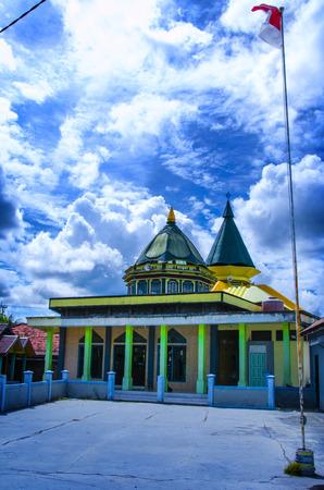 merah: Fathul Iman Mosque