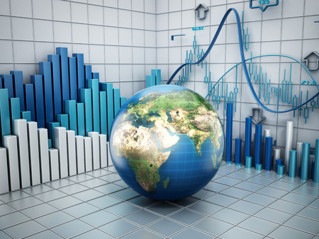 Global finance concept Stock Photo - 29264230