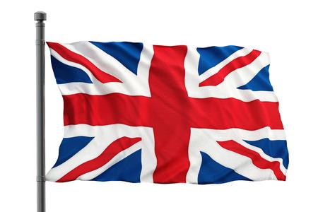 britain flag: Britain flag Stock Photo