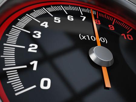 Speed gauge photo