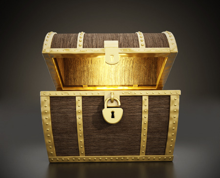 Treasure Chest Stock fotó