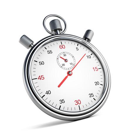 chronometer: Chronometer isolated on white background Stock Photo
