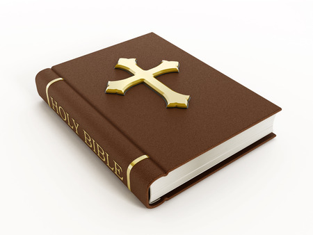 testaments: Holy bible Stock Photo