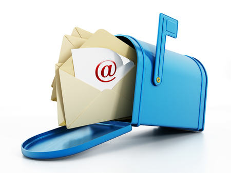 caixa de correio: Caixa de correio Banco de Imagens