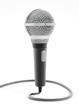 corded: Corded microphone