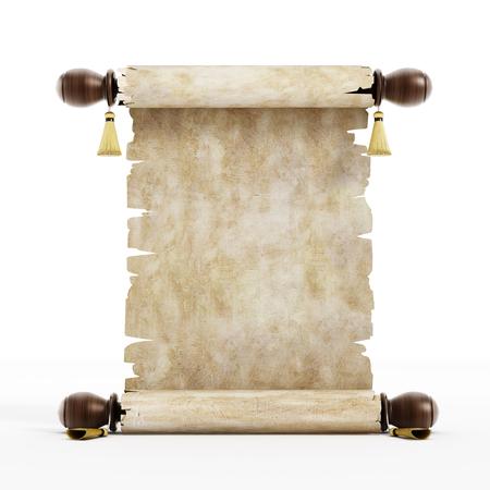 hebrew script: Parchment