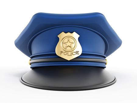 gorra policía: Sombrero de Policía