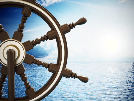 rack wheel: Ship wheel