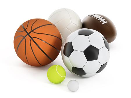 pelotas de deportes: Deportes de pelotas  Foto de archivo