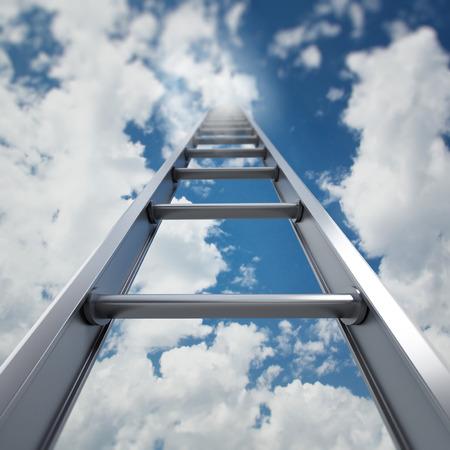 Ladder of success Stockfoto