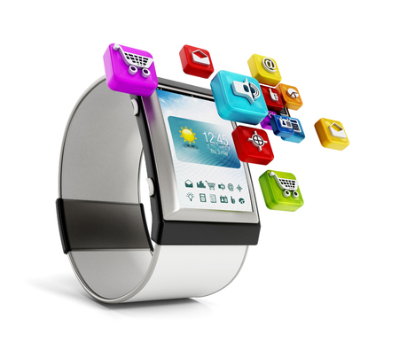 smart: Smart watch Stock Photo