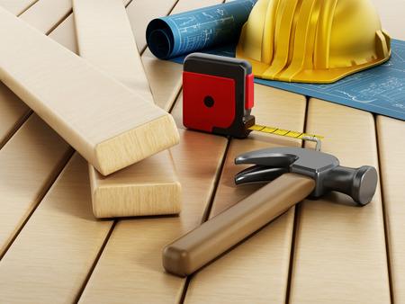 home plans: Construction project
