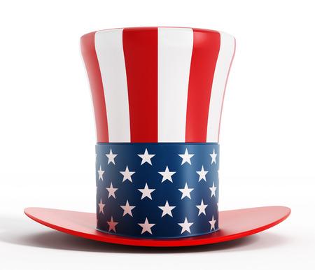 Uncle Sam hat Stockfoto
