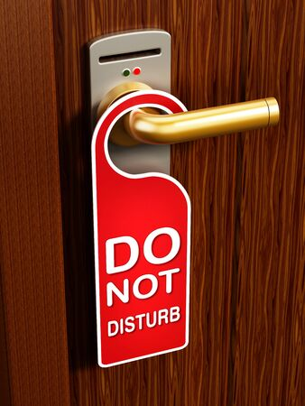 room door: privacy Stock Photo