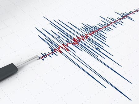 sismogr�fo: Terremoto