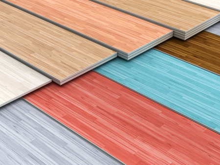 multi colored parquet flooring boards with various textures stack stock photo 55619212 - Hardwood Flooring Multi Colored