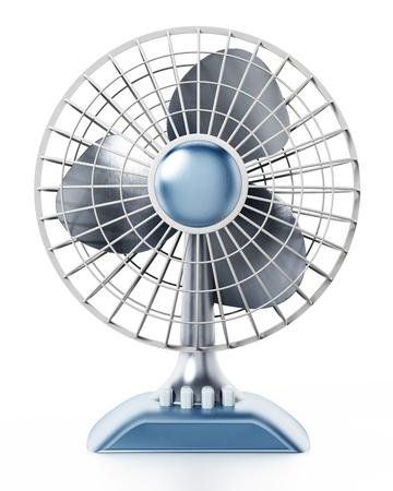 Ventilator isolated on white background. 3D illustration.
